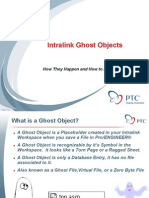 Intralink Ghost Objects