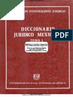 VA - Diccionario Juridico Mexicano Tomo 1 a.B - UNAM - 1a Ed - 1982 - 325