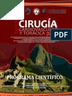 Programa Preliminar Congresos 2012 Perú