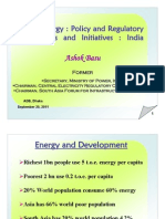 Ashok Basu - Solar Energy-Policy and Regulatory Challenges and Initiatives in India