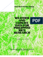 IRPS 41 Weather and Climate Data for Philippines Rice Research