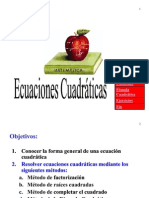 2.04 Ecuaciones Cuadráticas
