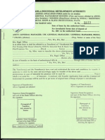Authentic Property Documents Series, Preferred Spaces NOIDA 1 of 24