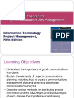Chapter 10 Project Communications Management