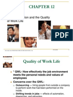 Ch12 Job Satisfaction QWL