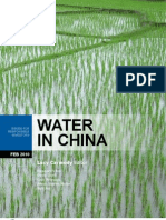 WATER in CHINA Issues for Responsible Investors FEB2010