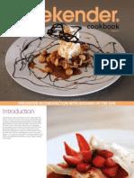 Weekender Recipe Book Volume Five