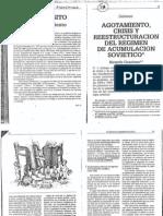 GRAZIANO RICARDO - to Crisis y Reestructuracion Del Regimen de Acumulacion Sovietico