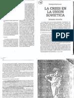 ASTARITA ROLANDO - La Crisis en La Union Sovietica