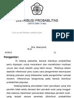 5946 Bab 3 Distribusi Probabilitas