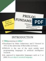 Prolog Fundamentals
