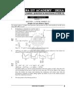 Questions-Solutions Paper I Code