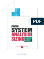 Pump System Analysis and Centrifugal Pump Sizing