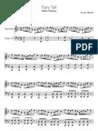 Fairytail Main Theme Piano Notes