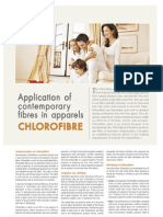 Application of Contemporary Fibres in Apparels CHLOROFIBRE