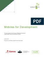 Mobiles 4 Dev Report - For Distribution