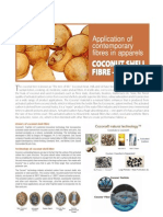 Application of Contemporary Fibres in Apparels Cocona Fiber