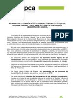 Informa Mesas Negociación Canarias [26-10-11]
