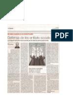 20070527_Defensa de Les Entitats Socials_El Periodico