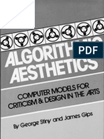 Algorithmic Aesthetics