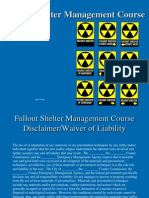 Fallout Shelter Management Course - Public Shelters Jan 2007 Generic