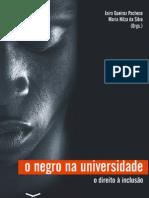 Negro e Universidade Direito a Inclusão