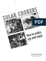 16363208 Solar Cookers Natural Living