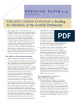 The Low-Carbon Economy