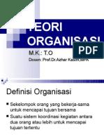 Teori Organisasi 1