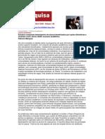 Revista Pesquisa FAPESP Nº16 -- Avaliação Sobbre ação Afirmativa