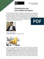 Precios de Transferencia, una oportunidad de análisis del negocio - Sep 2011 - Legal Today - Sala & Serra Abogados