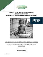 Myanmar ForumAsia Ngo Report