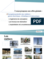Presentation Metiers Forclum 2006