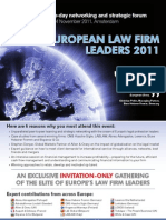 European Law Firm Leaders 2011