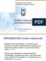 Teoria Organizacional Breve