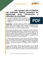 S%C3%81ENZ DE SANTAMAR%C3%8DA - Estatuto B%C3%A1sico del Empleado P%C3%BAblico  (13.06
