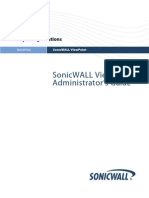 SonicWALL ViewPoint 5.0 Admin Guide