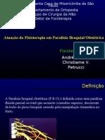 Apresentação Paralisia Obstétrica-PBO Compact Ada