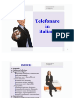 Telephoning in Italian by Learnwell Oy