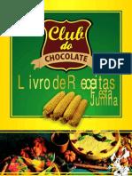 Livro de Receitas Club Chocolate Festab Junina