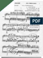 Anatoly Alexandrov Opus. 1 Preludes