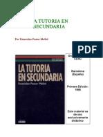 34PASTOR MALLOL Estanislao Cap 1 La Tutoria Elementos Funciones y Tareas
