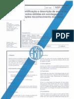 NBR 7250 - Identificação e Descrição de Amostras de Solos Obtidas em Sondagens de Simples Reconhecimento dos Solos