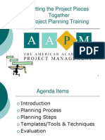 AAPM Project Planning