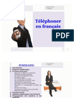 Telephoning in French by Learnwell Oy