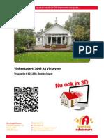 3D Brochure Vinkenkade 4 Te Vinkeveen
