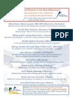 Symposium Dedicated to Professor Luis Moroder