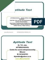 3 AUGUST Aptitude Test