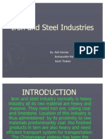 Iron and Steel Industries