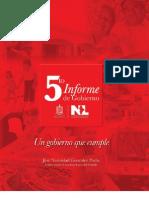 5to Informe de Gobierno | Documento narrativo